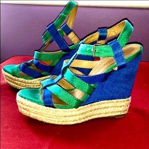 High heel wedges
